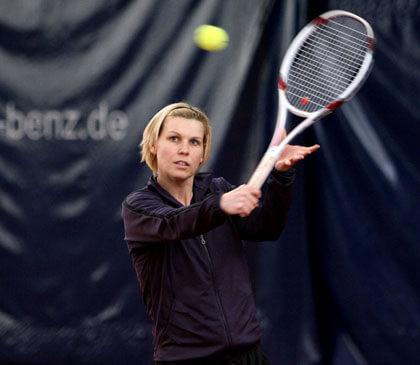 Tennisprofi Anke Huber